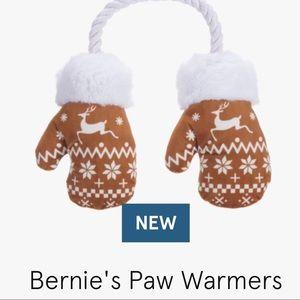 Bernie's Paw Warmers